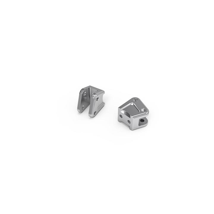 gm30102 01 GA60 Aluminum link mount (Silver) GM30102