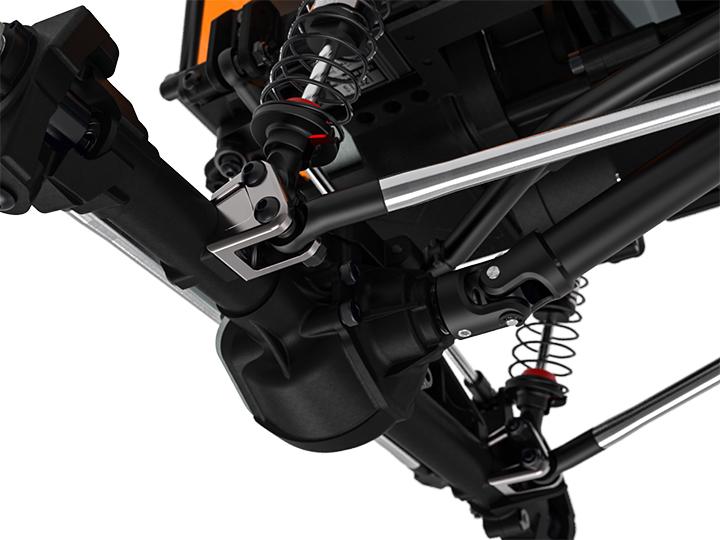 gm30103 02 GA60 Aluminum link mount (Titanium gray) GM30103