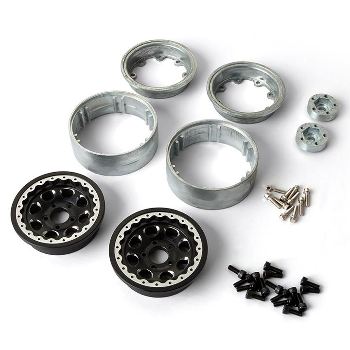gm70344 2 1.9 AR01 5 Lug Aluminum beadlock wheels (2) GM70344